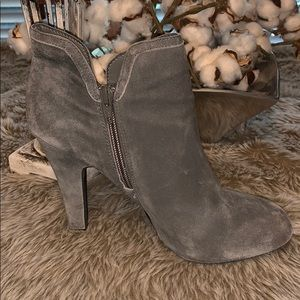 Gianni Bini Gray Heel Booties